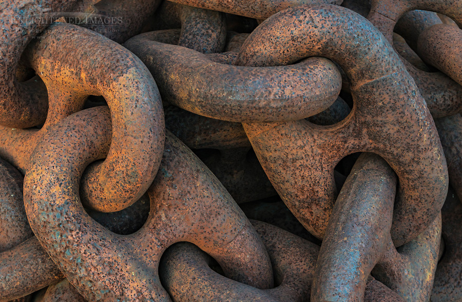 Image: Rusted Anchor Chain, Mare Island Naval Shipyard National Historic Landmark, Vallejo, California