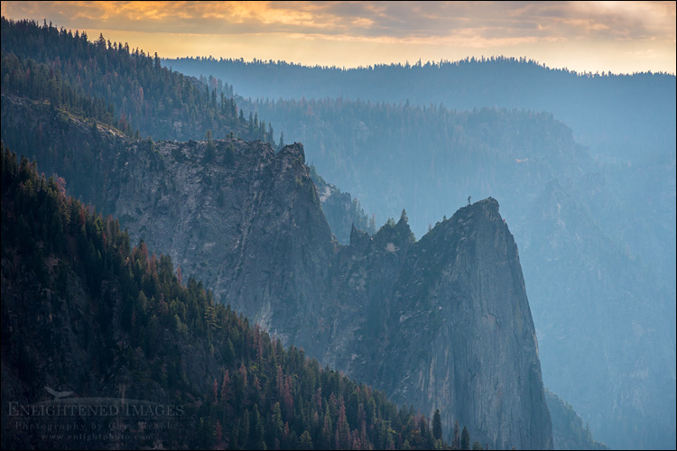 Image: Sentinel Rock, along the side of Yosemite Valley, Yosemite National Park, California