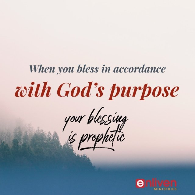 Prophetic Power of Blessing
