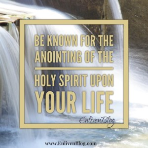 Anointing of the Holy Spirit