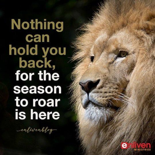 Prophetic Word: Your Roar is Being Restored