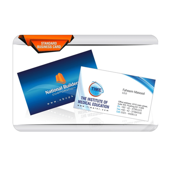 National Builders Business Card