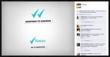 Publicación en redes Rexona