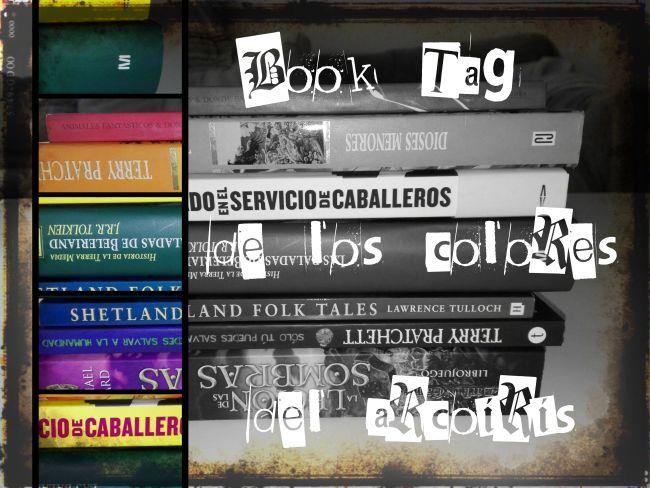 Book Tag de los colores del arcoíris: libros