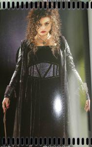 Personajes villanos (y sus vestimentas) adaptados al cine: Bellatrix Lestrange