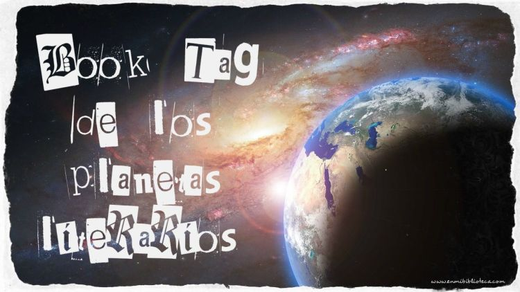 Book Tag de los planetas literarios: el espacio