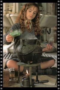 Cómo vestir a tu heroína: Hermione con pociones
