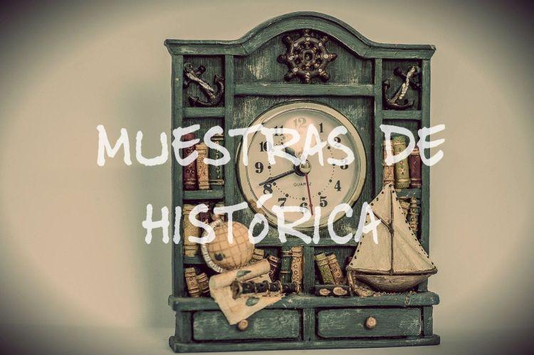 Muestras de histórica