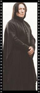 Cómo vestir a tu secundario II: Snape con su cara de buenos días