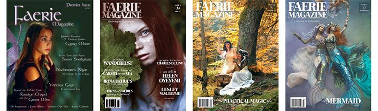 Book haul & Wrap up de julio Faerie Magazines