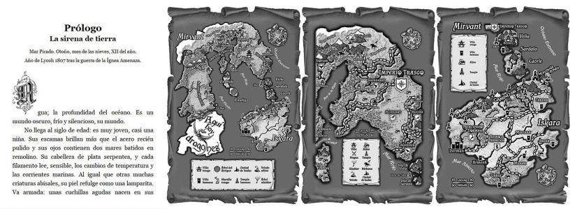 Reseña de El fuego de Iara: mapas y letra capital