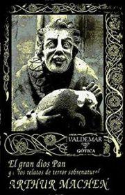 Book tag de Halloween: cubierta de El gran dios Pan y otros relatos de terror sobrenatural