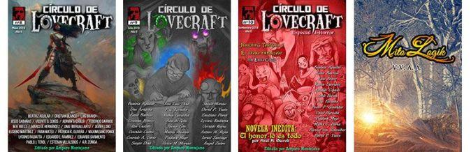 Book haul & Wrap up de octubre 2018 revistas Círculo de Lovecraft y Mito Logik