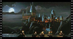 Cómo diseñar tu escenario especial: exterior del castillo de Hogwarts