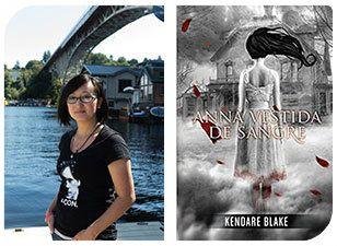 Esta Navidad regala autoras II: Kendare Blake y Anna vestida de sangre