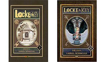Book tag de despedida del 2018: ómnibus 1 y 2 de Locke & Key