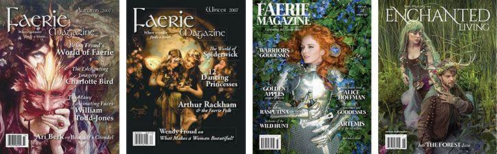 Book haul & Wrap up de marzo y abril 2019: revistas 'Faerie Magazine' y 'Enchanted Living'