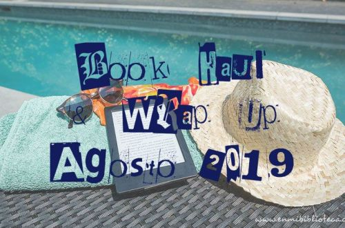 Book haul & Wrap up de agosto 2019: imagen principal
