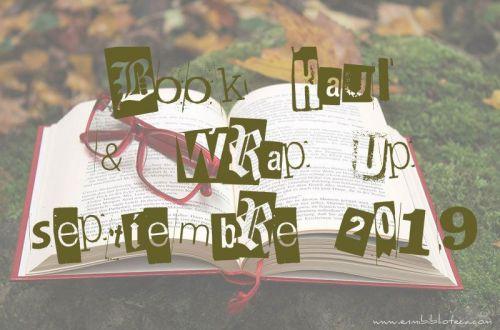 Book haul & Wrap up de septiembre 2019: imagen principal