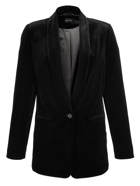 blazer velours noir