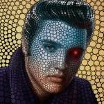 Ben Heine Elvis Presley