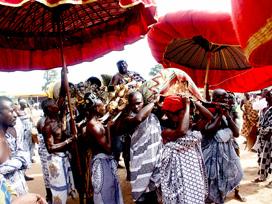 Panafest , Ghana , Afrique