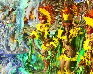 Le Carnaval de Rio de Janeiro , Brésil
