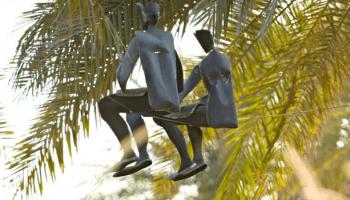 Screen sculptures