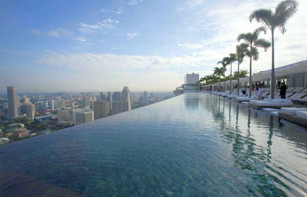 Piscine -1000-Infinity-Pool-Singapore