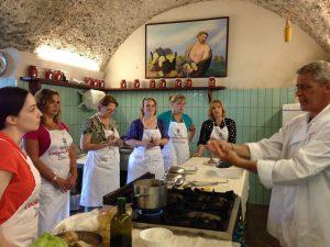 Da Ravello agli Usa: Chef Vincenzo Amatruda vola in Connecticut e porta la sua scuola di cucina