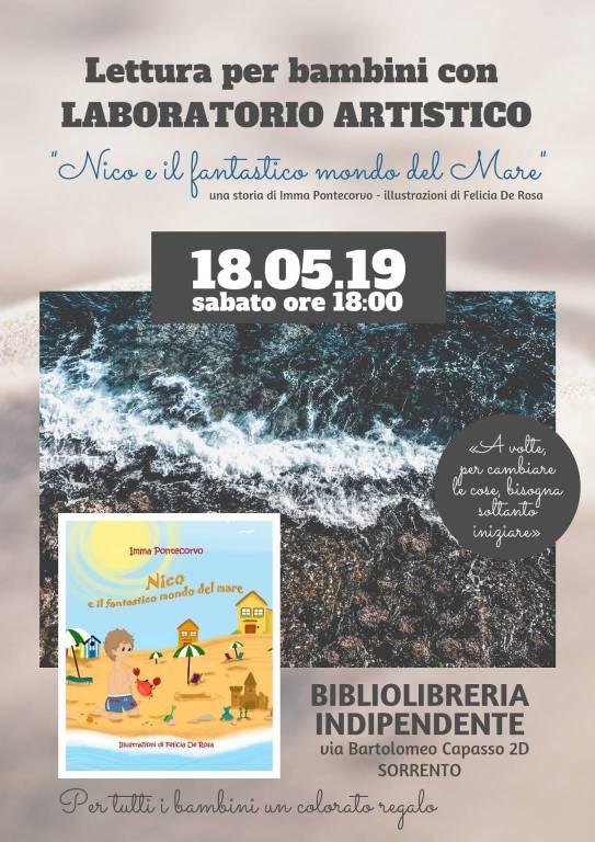 """Tappa a Sorrento per la favola ambientalista """"Nico e il fantastico mondo del mare"""""""