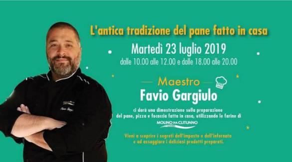 """Sorrento . Martedì da Pollio evento con Favio Gargiulo il """"maestro del pane"""""""