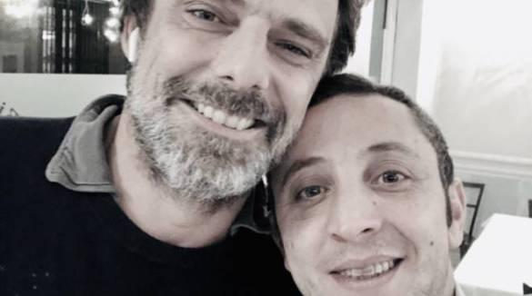 """Monza , al ristorante """" Alle Arcate """" a gestione Minorese, ospiti Gabriele Salvatores e Alessandro Preziosi"""
