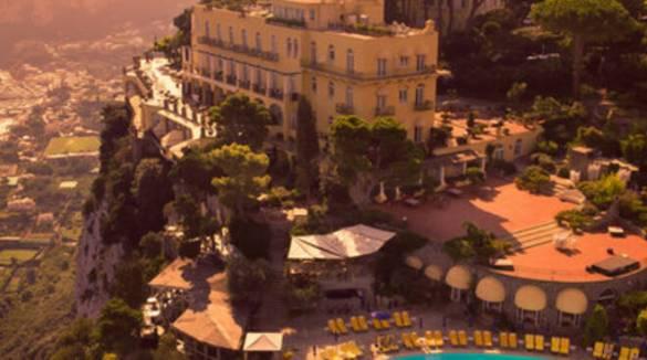 L'Hotel Caesar Augustus di Anacapri premiato come Miglior Resort Italiano 2020