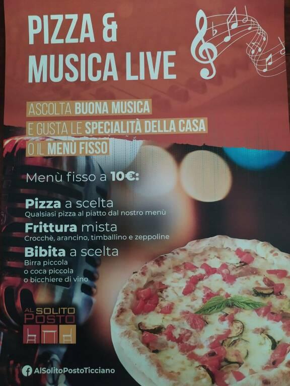 Ticciano, Vico Equense. Pizzeria Al Solito Posto: dal famoso scarpone, al karaoke e la musica live