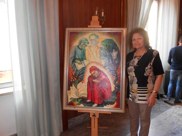 May be art of Angela Vinaccia and indoor