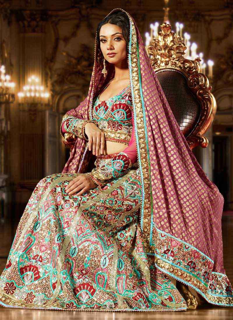 vestido-de-noiva-para-casamento-indiano