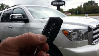 Belle Valley Client Gets Remote Starter For 2015 Toyota Sequoia