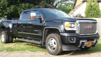 GMC Denali Rigid Industries D2 Driving Lights For Jamestown Client