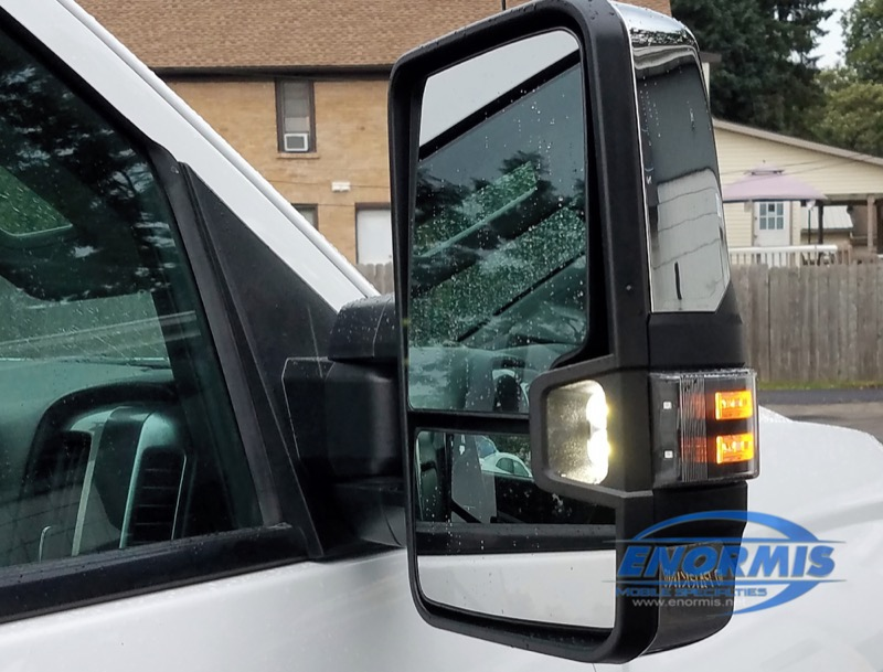 Chevy 2500 HD Power Fold Truck Mirrors