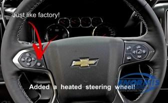 Chevy Silverado Heated Wheel