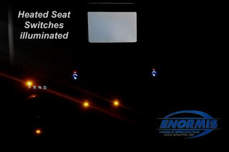 1500 Express Heated Seats