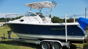 Pro-Line Sport Boat Electronic Repairs for Repeat Harborcreek Client