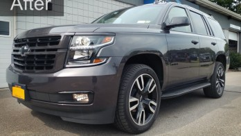 Factory Chevy Tahoe Fog Light Upgrade for Clymer Client