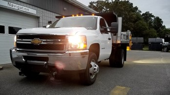 Chevy Snow Plow Lighting Upgrades for Erie Client