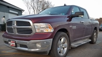 2017 Ram Big Horn Edition Gets Heated Seats Upgrade at ENORMIS