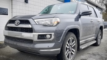 Erie Client Adds Unlimited Range Remote Start to 2018 Toyota 4Runner
