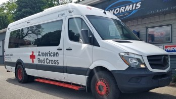 Sprinter Electrical Problem solved for American Red Cross