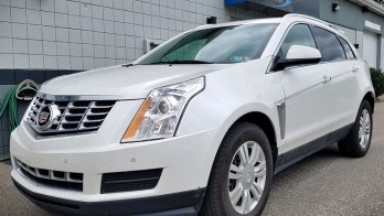 SRX Screen Repair needed on 2015 Cadillac for North East, Pa Resident
