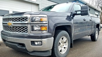 Factory Tow Mirror Upgrade on 2015 Chevrolet Silverado